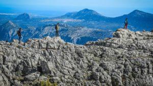 Trekking tour to Mount Corrasi